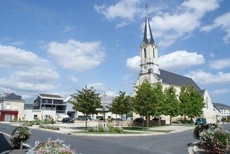 Le centre-bourg, place de l'Eglise