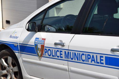 Voiture police Avoine