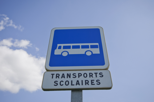 Transports-scolaires panneau